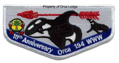 10th Anniversary Orca Flap